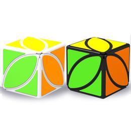 2019 jouets pour adultes 56 * 56 * 56mm Transformer Géométrique Puzzle Feuille d'érable Magic Cube Fidget Infinity Nouveauté Cube d'ordre 2 Anti-Stress Jouets Pour Enfants Adultes C4929 jouets pour adultes pas cher