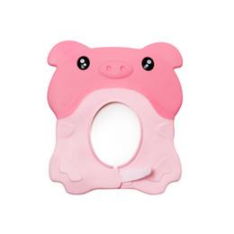 Deutschland Babyparty-Kappen-Kind-Kind 3 Farben-weiches justierbares schützen Shampoo-Bad-Wäsche-Haar-Schild-Hut wasserdichtes verhindern Wasser zu den Ohren Versorgung