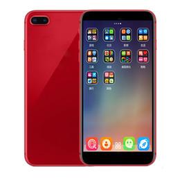 I8PLUS Goophone 5.5 inç MTK6580 Dört Çekirdekli 512M / 4G şovu sahte 4G / 256g sahte 4G LTE Kilidi 2G plastik Smartphone nereden
