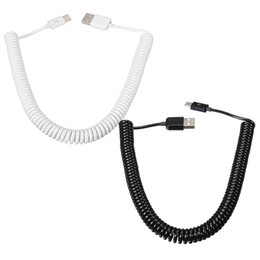 Wholesale Combination C - USB-C 3.1 Male To USB 2.0 Type-A Male Charger Data Sync Spring Coiled Cable Cord For Nokia N1 Tablet For Chromebook Macbook
