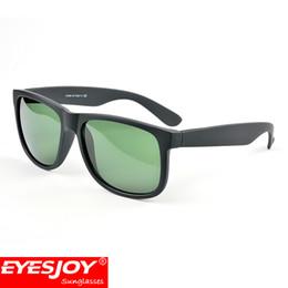 Wholesale round mirror frames - 4165 Classic Justin Brand Sunglasses for Men Designer Square Frame 4165-F Luxury Women sugnlasses 7 colors with orignal case