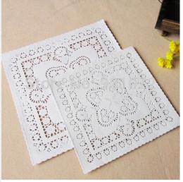 doyleys de papel Rebajas 480Pcs Cuadrado Blanco 10