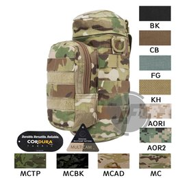 212331a28e 2019 borse per bottiglie d'acqua Emerson Tactical MOLLE H2O Hydration Water  Bottle Carrier Pouch