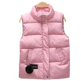 Canada 2018 automne hiver femmes gilet col mandarin sans manches manteau court femmes veste gilet femme plus taille chalecos para mujer Offre