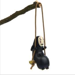 Geschenk weg online-Spirited Away Play Swing Edition Schöne Spielzeug Abbildung Sammlung Geschenke DIY Zakka Kreative Desktop Dekoration Handwerk Requisiten Puppen