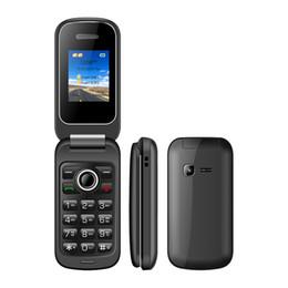 Wholesale mp3 player band - New Arrivel UNIWA X18 1.77 Inch Quad band Dual SIM 600mah Battery Unlock Flip Cell Phone