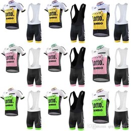 2018 Tour de France Cycling Lotto DATA BORA QUICK STEP AG2R New Team jersey  bib shorts sets Quick Dry Bicycle Bike clothing C0719 orange bikes on sale 3042e5e09