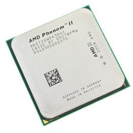 Wholesale Amd Processor Am3 - Computer Components CPUs AMD Phenom II X3 720 Processor Triple-Core 2.8GHz Socket AM3 938-pin 95W Desktop CPU