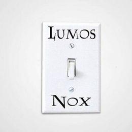 Wholesale graphics set - 3 Pcs Set Lumos Nox Light Switch Sticker , Creative Switch Sticker Vinyl Harry Potter free shipping