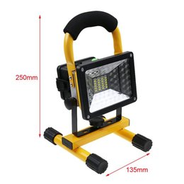 Wholesale Aluminium Castings - Sanheshun 4 in 1 Die Cast Aluminium Rechargeable Battery 30W Portable IP65 LED Work Light Home Factory Emergency Floodlight