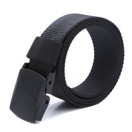 Wholesale Tactical Belt Buckles Wholesale - 2017 Male Belt High Quality Designer Brand Automatic Buckle Belt For Men Outdoor Sports Style Army Tactical 120cm Wholesale