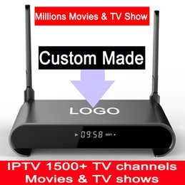Wholesale Disk Watch - Custom Made Free IPTV 2GB 16GB Sata Hard Disk 2TB RK3229 Quad core Android6.0 TV box Watching Millions of Movies & TV Shows H2 3pcs