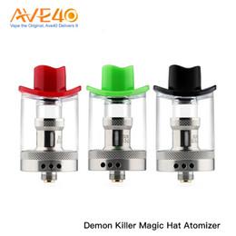 atomizador asesino Rebajas Original Demon Killer Magic Hat Atomizer Bobina de alambre 5.0ML bobina de malla 4.5ML Bobina de alambre doble