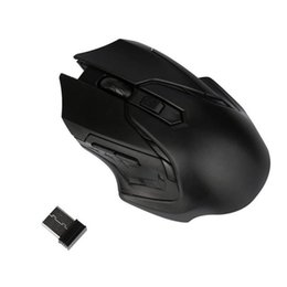 Drop ship mouse wireless en Ligne-Binmer Luxury Brand 2.4GHz Sans Fil Souris Pour Ordinateur PC Portable USB Mini Souris Haute Qualité Mause Drop Ship 18AUG9