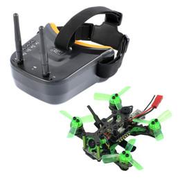 2019 micro câmera fpv Mantis85 85mm 5.8G FPV Micro Corrida Drone Quadcopter BNF 600TVL Câmera VTX Dupla Antena 3 Polegada Mini Óculos de Vídeo para FLysky desconto micro câmera fpv
