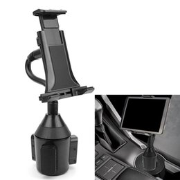 "Wholesale galaxy tablet mini - Adjustable Car Cup Holder Mount for 7""-10"" Tablet Apple iPad Mini Samsung Galaxy"