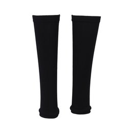 Wholesale thin arm sleeves - Wholesale- 5pcs( Black Stretchy Thin Support Pullover Sleeve Protector Size L