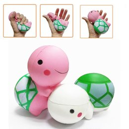 Wholesale Turtle Cute - Kawaii Squishy Tortoise New Squishies Animal Large Cute Turtle Slow Rising Toys Scented Simulation DHL Free Shipping SQU035