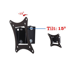 "Wholesale project panels - MT2750 14""-26"" Tilting Flat Panel LCD LED Monitor TV wall Mount Bracket MT2750 project mount TV monitor holder"