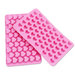 Wholesale Hearts Soap Mold - Heart Candy Silicone Ice Cube Mould Chocolate Soap Mold Cooking Tools Kitchen Accessories Dining Bar Supplies Products