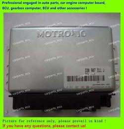 Wholesale Control Car Engine - For car engine computer board M154 ECU Electronic Control Unit Car PC Santana 330907311J 0261207103 driving computer