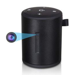 Bluetooth de seguridad online-1080 P WiFi Mini Cámara Inalámbrica Altavoz Bluetooth Cámara Grabadora de Video Con Detección de Movimiento Nanny Cam para monitoreo de seguridad en el hogar de interior