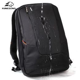 Wholesale Korean Fashion For Boys - Wholesale- Kingsons Brand Waterproof Men Women Laptop Backpack 15.6 inch Notebook Computer Bag Korean Style School Backpacks for Boys Girls
