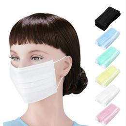 Máscaras contra poeira respiradores on-line-Máscara respirável segura da máscara da boca respirável Anti-poeira máscara descartável da máscara da orelha removível máscara anti-poeira do embaçamento
