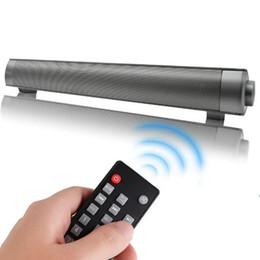 2019 pc-systeme Soundbar Surround Sound Bar Heimkino-System Wired TF-Kartensteckplatz Bluetooth-Lautsprecher Wireless Sound Bar für TV PC Handy Tablet USZ165 günstig pc-systeme