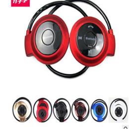 Mini 503 Cuffie stereo Bluetooth senza fili Cuffie vivavoce Sport Musica auricolare in-ear per Iphone 6 5S Ipad Samsung S4 S5 HTC LG da mp4 s5 fornitori