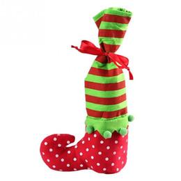 Artículos navideños online-Venta caliente lindo calcetín de Navidad lleno de ambiente festivo Artículos populares de vacaciones