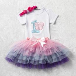 2019 однолетние платья девочке новорожденных девочек день рождения платье новорожденного ребенка летом пачка тюль одежда один год старые маленькие девочки одежда первый день рождения наряды скидка однолетние платья девочке