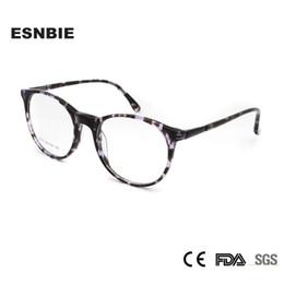 1fa66bb6afb ESNBIE TR90 Women S Eyeglasses 2018 Retro Round Eyewear Frame Women Vintage Glasses  Frame Men Spectacles Korea Glasses
