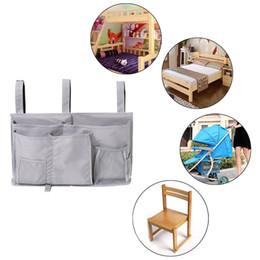 Wholesale Wholesale Clothing Magazines - Bedside Hanging Storage Bag Space-saving Organizer Holder for Book Magazine Phone Tissue Home Use Accessory Organization