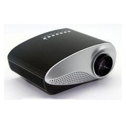 menor tv lcd Desconto Mais novo LED mini Vídeo Portátil Pico Micro Pequeno Mini Projetor LEVOU Mini Projetor Home Cinema Suporte AV TV VGA HDMI OTH823