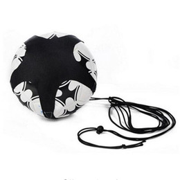 kids football trainers Promo Codes - Soccer Ball Juggle Bags Children Auxiliary Circling Belt Kids Football Training Equipment Kick Solo Soccer Trainer Football Kick