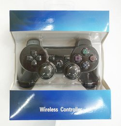 Wholesale joystick games - Hot Sensitive Wireless Controller Game Controller Joysticks For PS3 Bluetooth Controller Available Real SixAxis With retail box