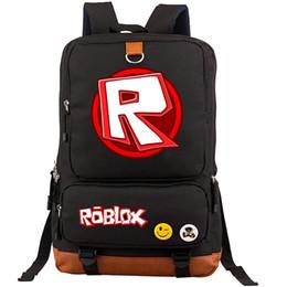Fare il gioco scolastico online-Zaino Rablox R logo daypack Rendi lo zainetto da gioco Zaino di qualità Zaino sportivo Zaino da montagna per esterni