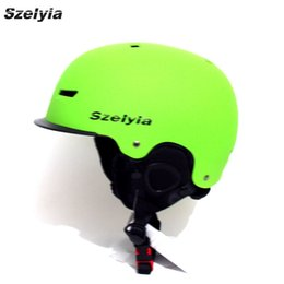 Wholesale Red Horse Riding - Szelyia New Skiing Helmet Winter snowboard helmet Equipment Snow Sports Saftly Security Helmets Skate horse riding Gear 2017