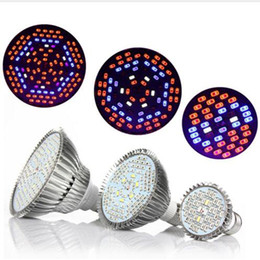 orticoltura fiorita Sconti Led Grow luci 30W 50W 80W Full Spectrum Led Pianta Grow Lamps E27 LED Orticoltura Coltiva la luce per Garden Flowering Hydroponics System