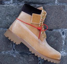 2019 botas de talla 46 Nuevo Original off Brand boots Mujer Hombre Diseñador Deportes Verde Blanco Zapatillas de deporte de invierno Casual Entrenadores Hombre Mujer Lujo ACE talla 36-46 rebajas botas de talla 46