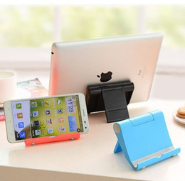 складная подставка для iphone Скидка Держатель телефона для iPhone X 8 складной мобильный телефон Tablet стенд держатель стола для Samsung Huawei Tablet