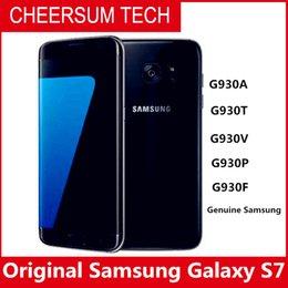 Deutschland 2018 ursprünglicher Samsung-Galaxie S7 imprägniern Handy 5.1inch 4GB RAM 32GB ROM-Viererkabel 2.3GHz Android 6.0 12MP 4G NFC geben DHL frei Versorgung