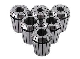 6pcs / set ER32 Precision Spring Collet Set per macchina per incidere e tornio per fresatura CNC ER32 10-20mm supplier tools for lathes da utensili per torni fornitori