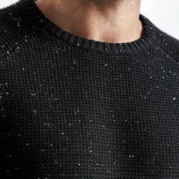 Suéter de punto de los hombres blancos online-Suéter Hombre Otoño Invierno Nuevo Slim Fit Moda Cremallera Punto Jerseys Punto Blanco Alta Calidad Más Tamaño
