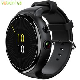 Wifi telefone wifi on-line-I4 Air Smart Watch Android 5.1 Wrist Phone Wifi Monitor de Freqüência Cardíaca Pagar GPS 2.0 MP Câmera 2G + 16G Quad Core SIM Card Smartwatch