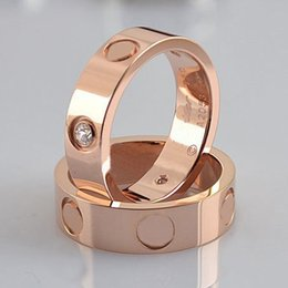 Wholesale hearts rings - Fashion brand love ring 6cm 4cm silver lover ring screwdriver wedding jewelry birthday present For Women men rings