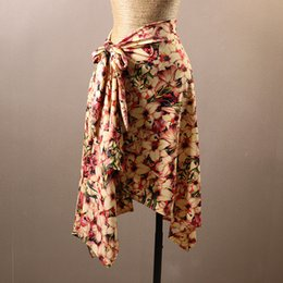 Wholesale red salsa skirt - Hip Scarf for Latin Dancing Salsa Tango CHEAPEST Latin Dance Skirt D0248 with Belt 11 Colors