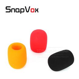 tipi di registratori Sconti Spedizione gratuita parabrezza microfono parabrezza registratore penna spugna tipo palla copertura schiuma filtro per zOOM h1 h 1 registratore mic
