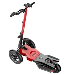 Wholesale Electric Scooter Bike Motor - 3 wheels Adults Electric Scooter Foldable Skateboard Hoverboard Folding Bike Bicycle Kick Scooters with seat 800W motor 40KM H